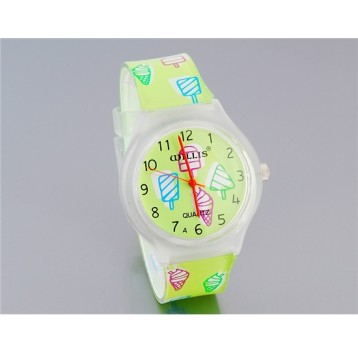 Willis Orologio analogico - movimento al quarzo - design Ice Cream (verde)